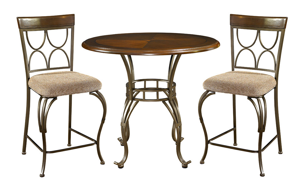Powell Langley Counter Height Dining Set