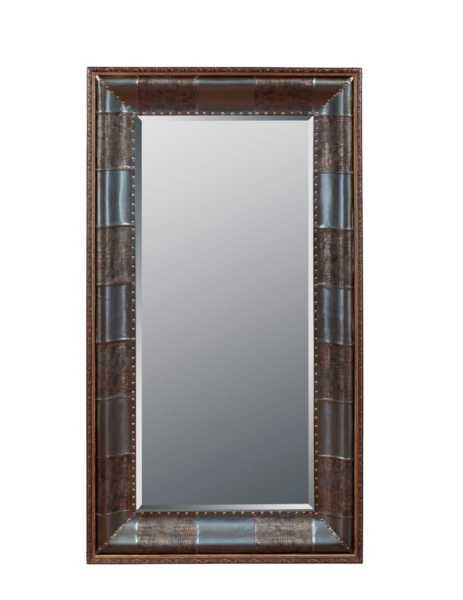 Powell Expedition Leaning Floor Mirror - Charcoal