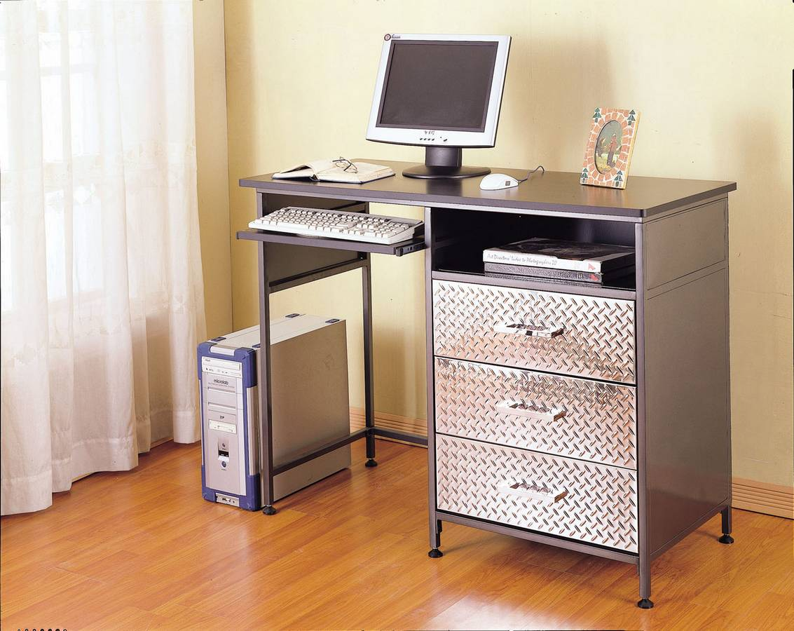 Powell Monster Bedroom Counter Height Computer Desk PW-500-555 at ...
