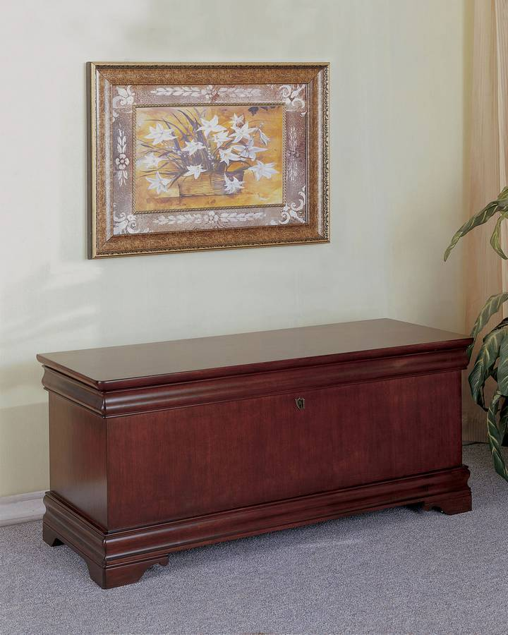 Cheap Powell Louis Philippe Marquis Cherry Cedar Chest