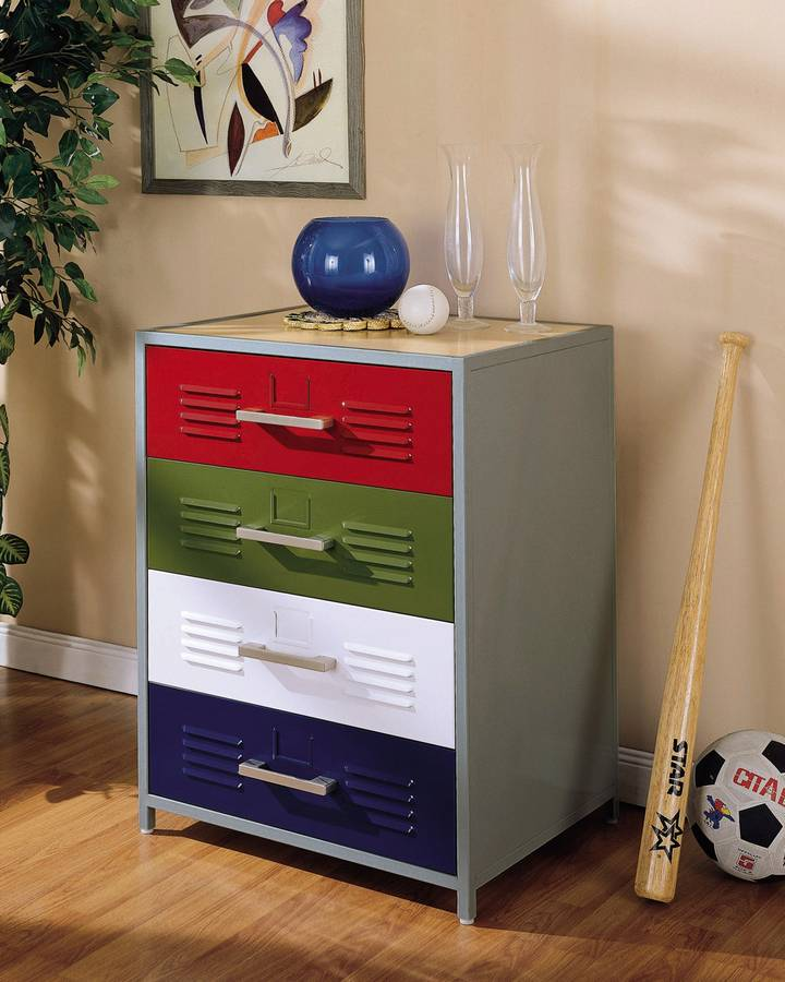Cheap Powell Teen Trends Primary 4-Drawer  Dresser