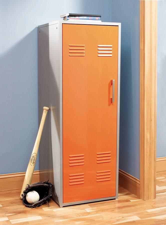 Cheap Powell Teen Trends Orange Storage Locker