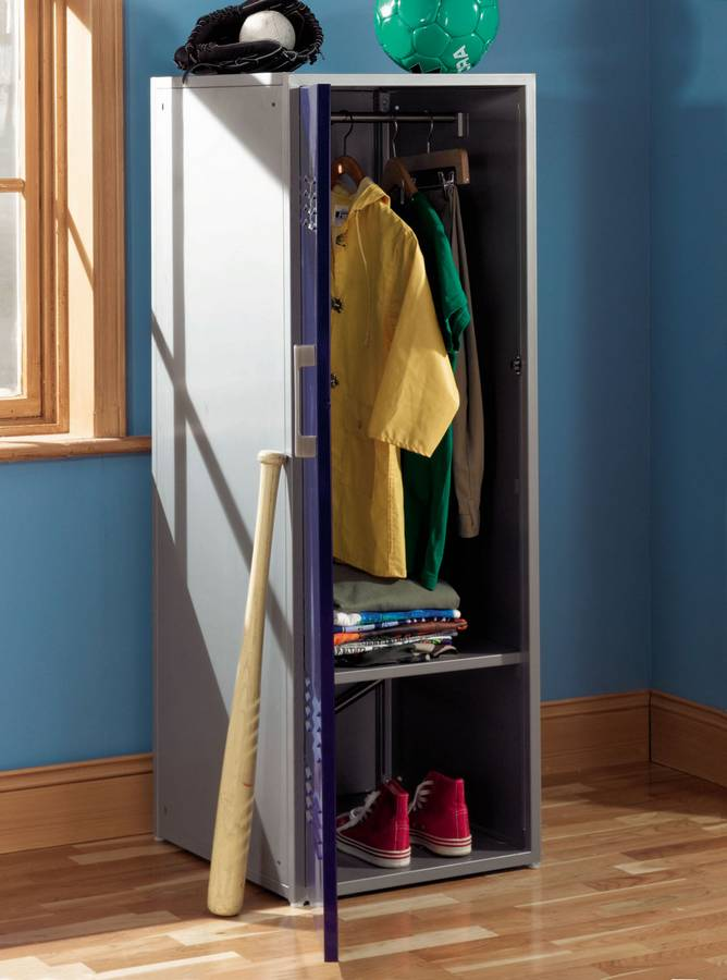 Teen Trends Navy Blue Storage Locker - Powell