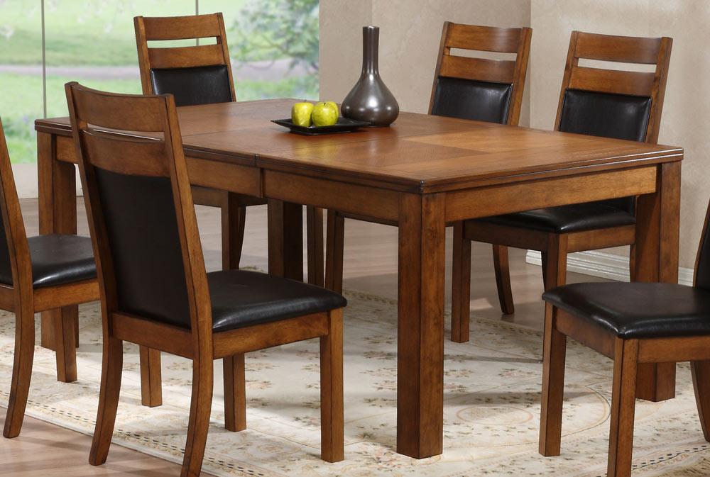Powell Millcreek Medium Oak Dining Set