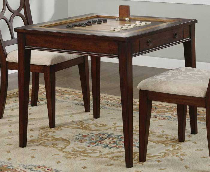 Photo of Powell Masterpiece Game Table with Game Pieces and Game Boards (Accent Furniture, Game Tables)