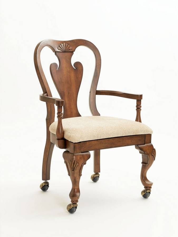 Powell Jamestown Landing Castered Dining - Game Arm Chair
