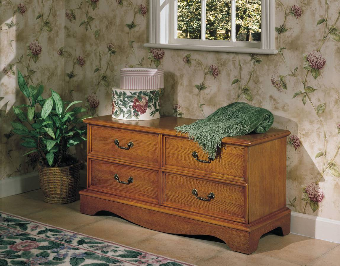 Cheap Powell Nostalgic Oak Cedar Chest