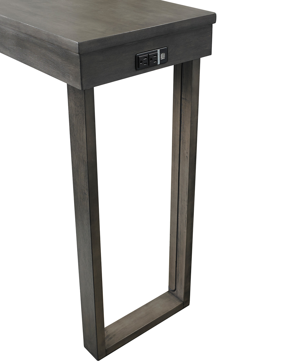 Powell Kyler Dining Console Table - Grey