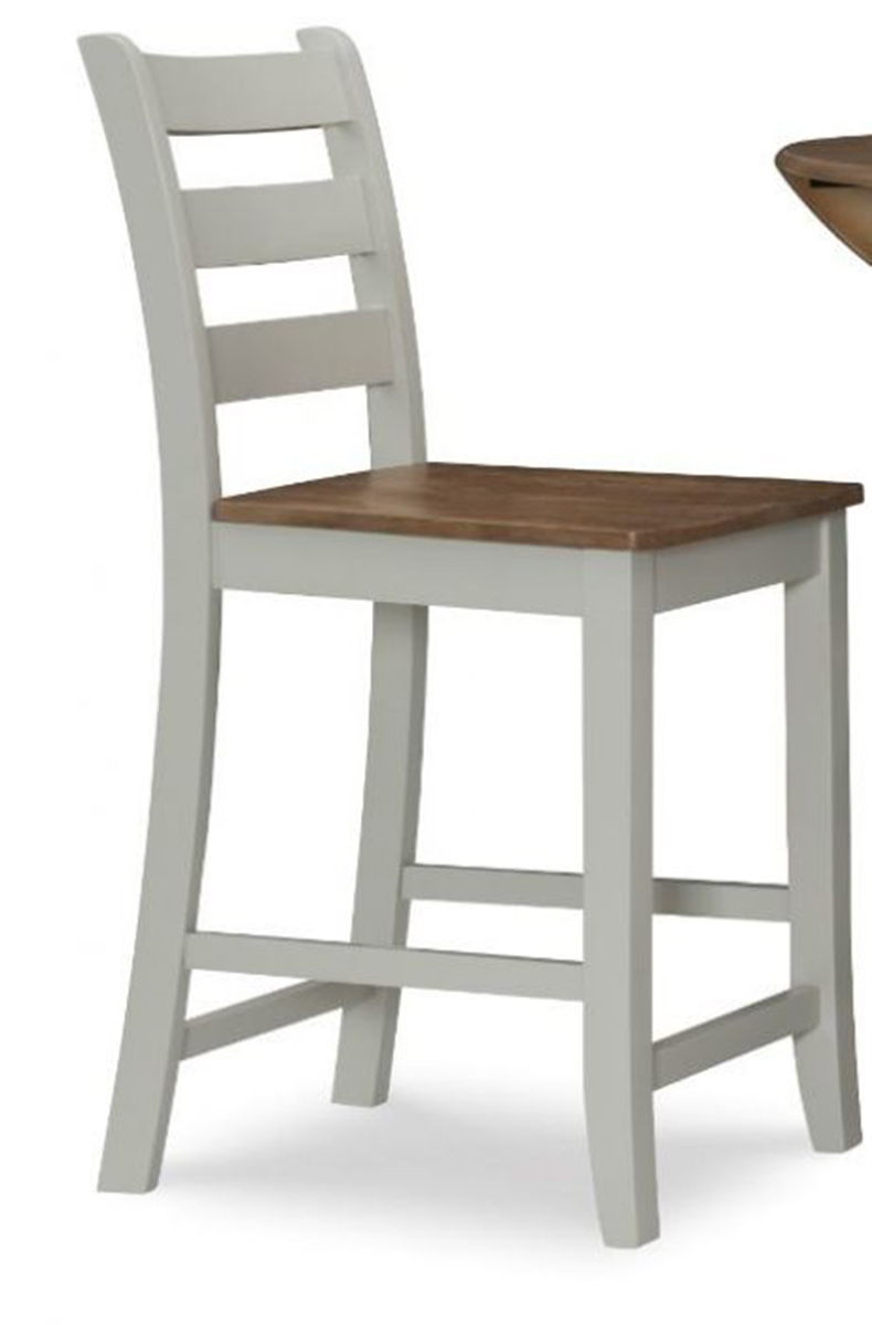 Powell Colm Counter Stool - Silver Birch/Wire brushed Oak
