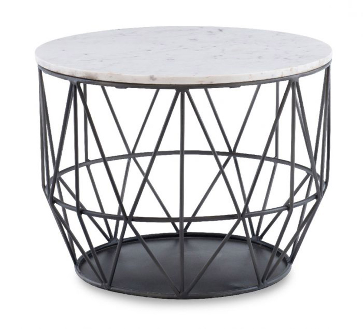 Powell Anderson Wire Side Table - Gunmetal