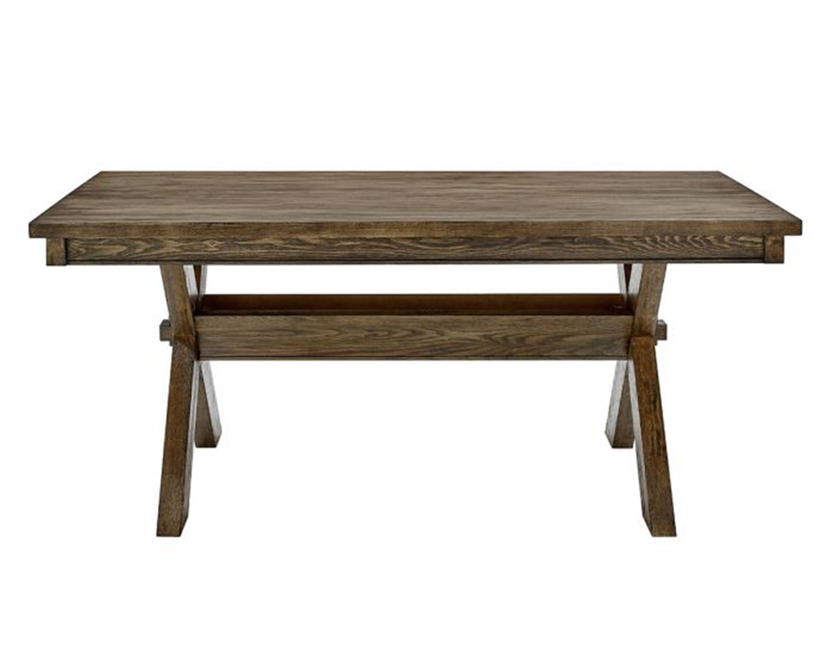 Powell Turino Dining Table - Rustic Umber