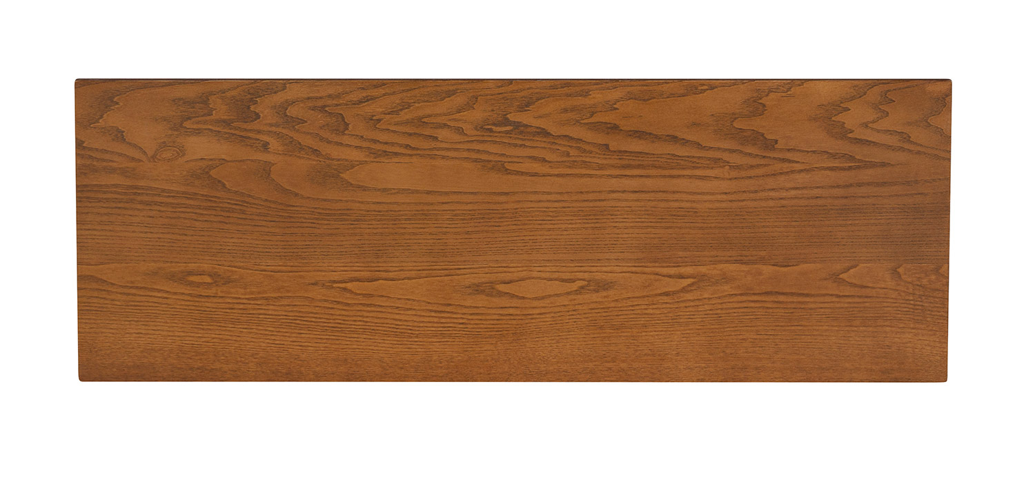 Powell Willow Bench - Brown