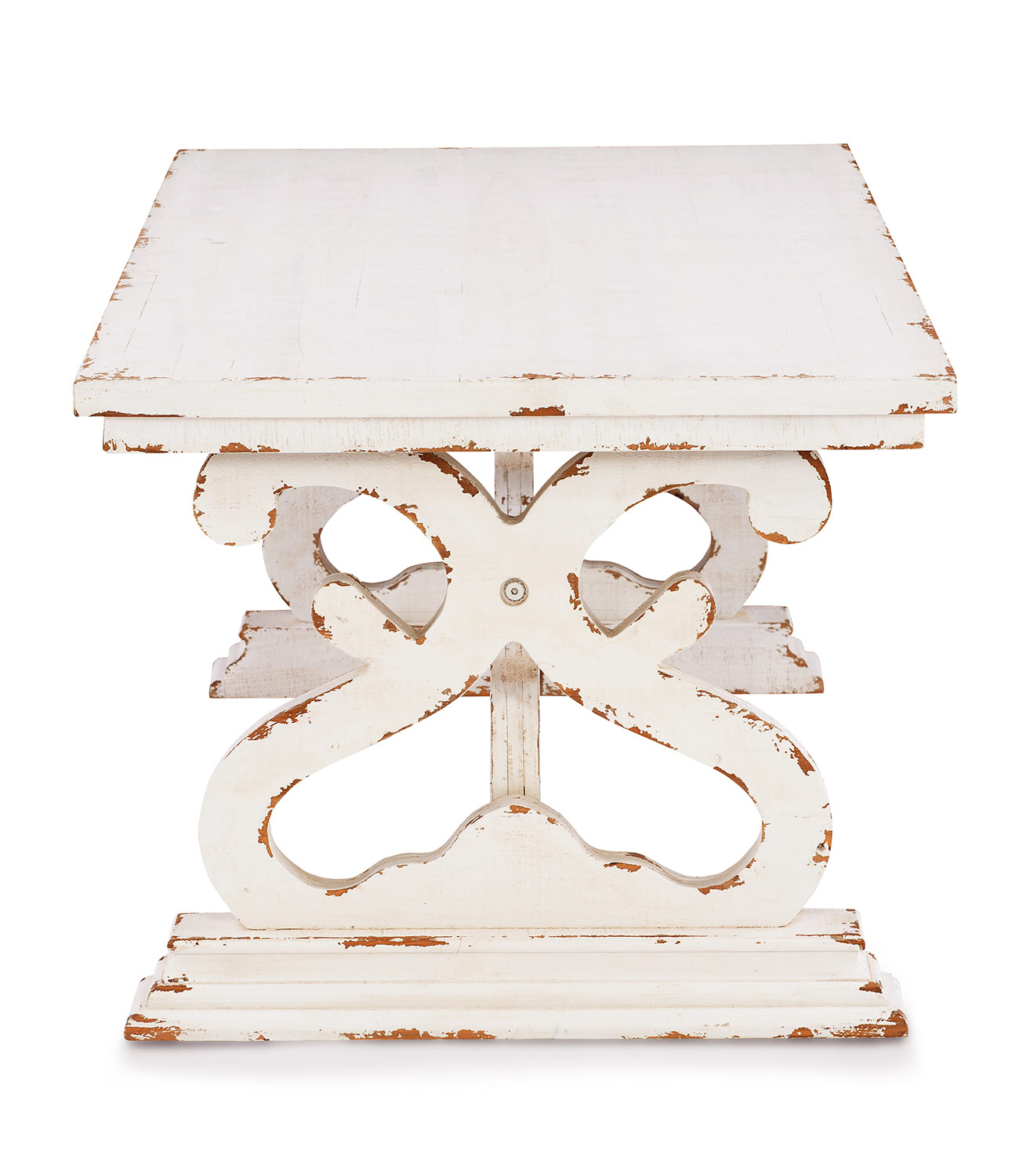 Powell Renck Coffee Table - Distressed White