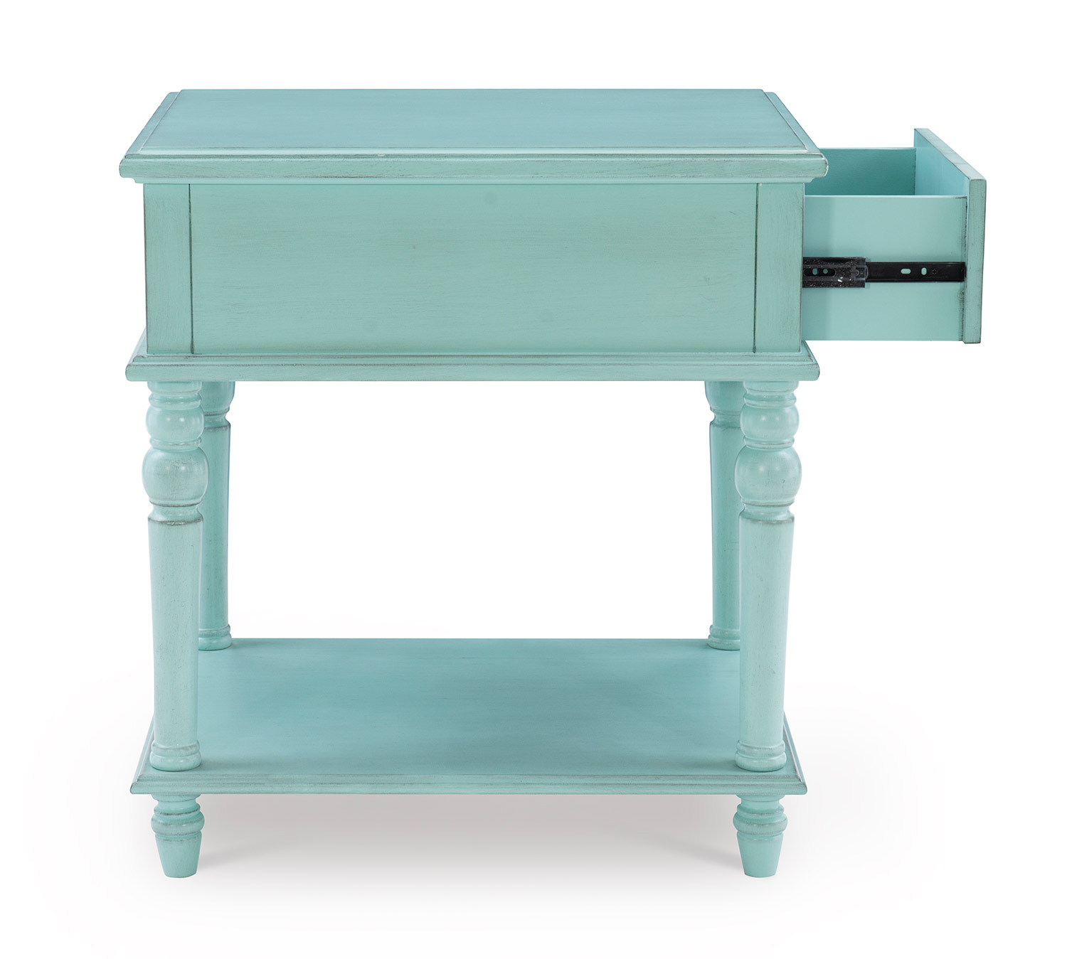 Powell McGhie Side Table - Blue