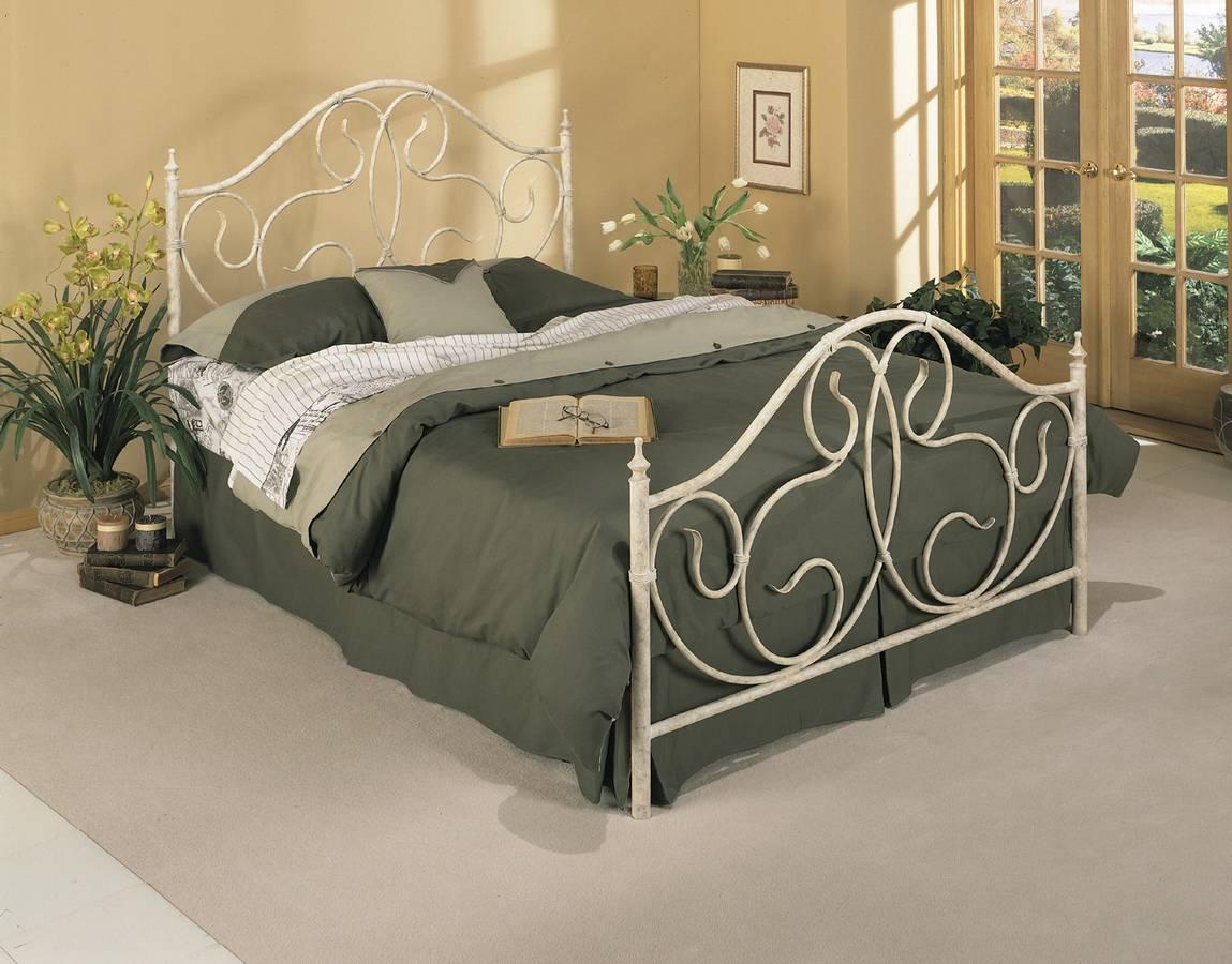Powell Sarasota Vanilla Marble Bed