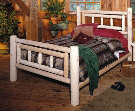 Rustic Cedar Cedar Looks Deluxe Cedar Bed