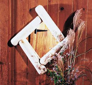 Rustic Cedar Cedar Looks Frontier Log Mirror