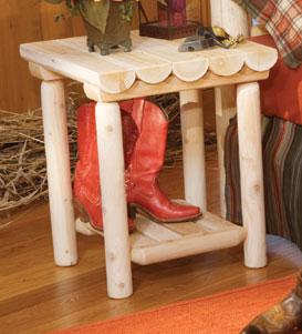 Rustic Cedar Cedar Looks Night Stand