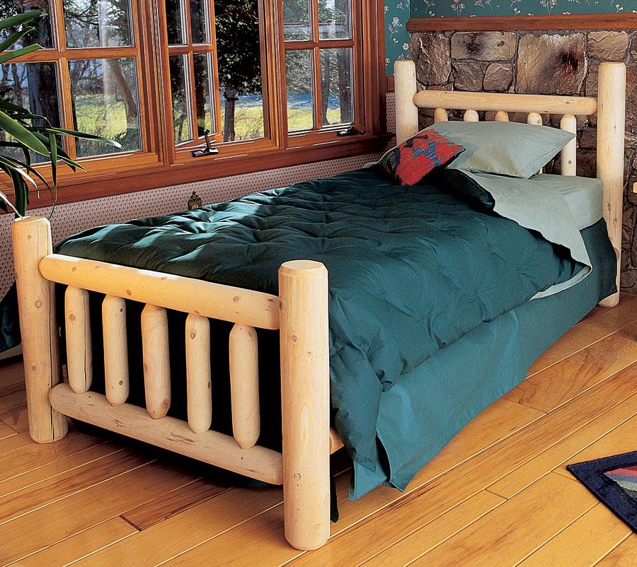 Rustic Cedar Cedar Looks Bed