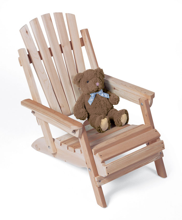 Rustic Cedar Cedar Looks Adirondack Chair Junior