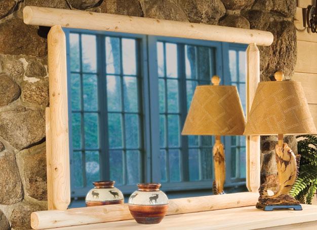 Rustic Cedar Cedar Looks Dresser Mirror
