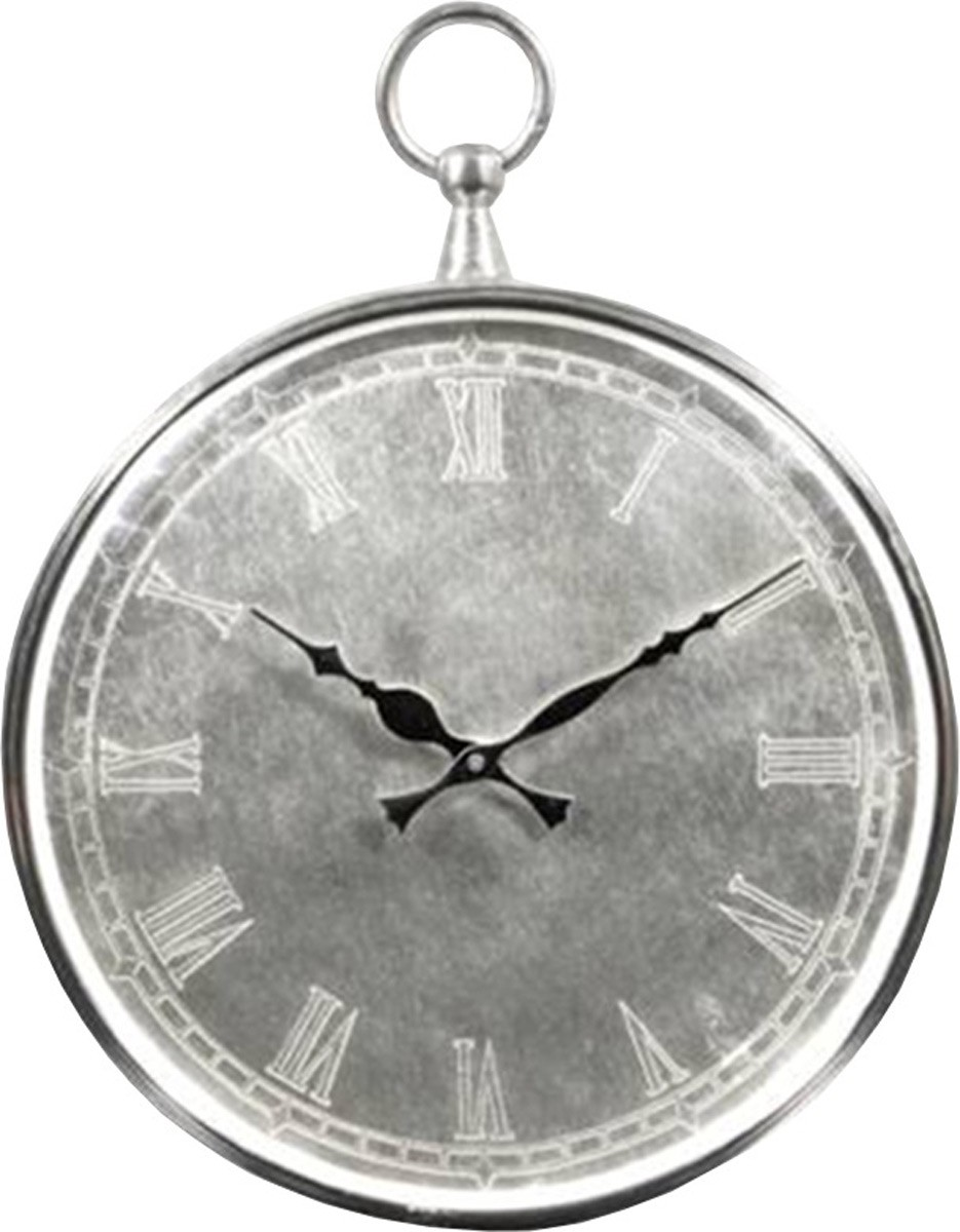 Ren-Wil Bryony Wall Clock - Nickel