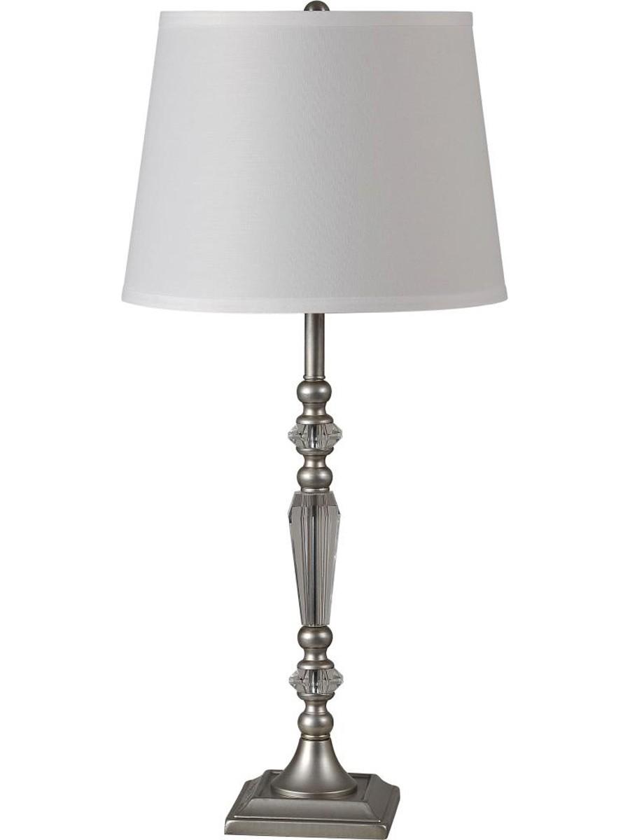 Ren-Wil Edna Table Lamp Set - Satin Nickel