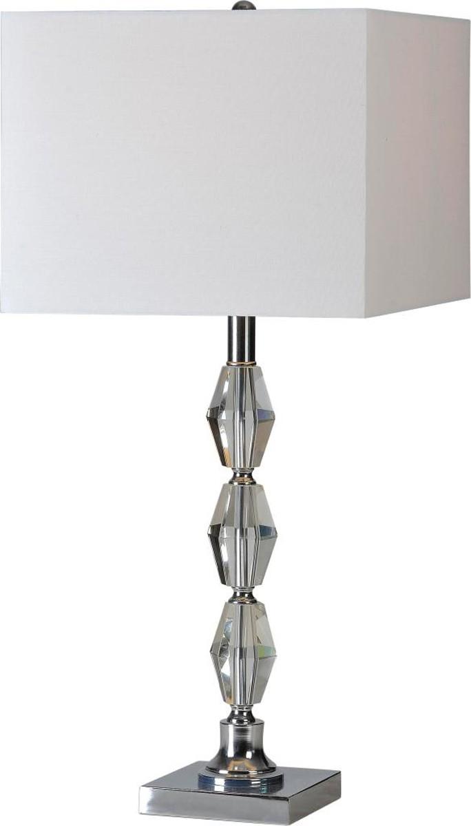 Ren-Wil Moira Table Lamp Set - Satin Nickel