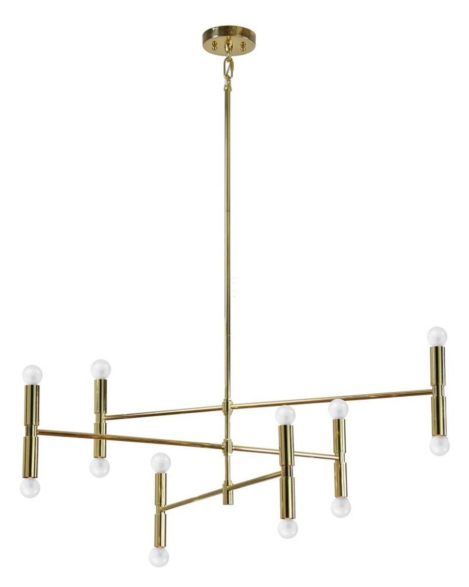 Ren-Wil AXIS Ceiling Fixture - Gold plated
