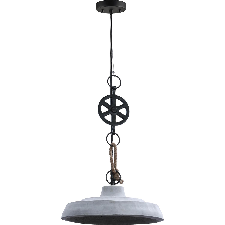 Ren-Wil Watt Ceiling Fixture - Light grey