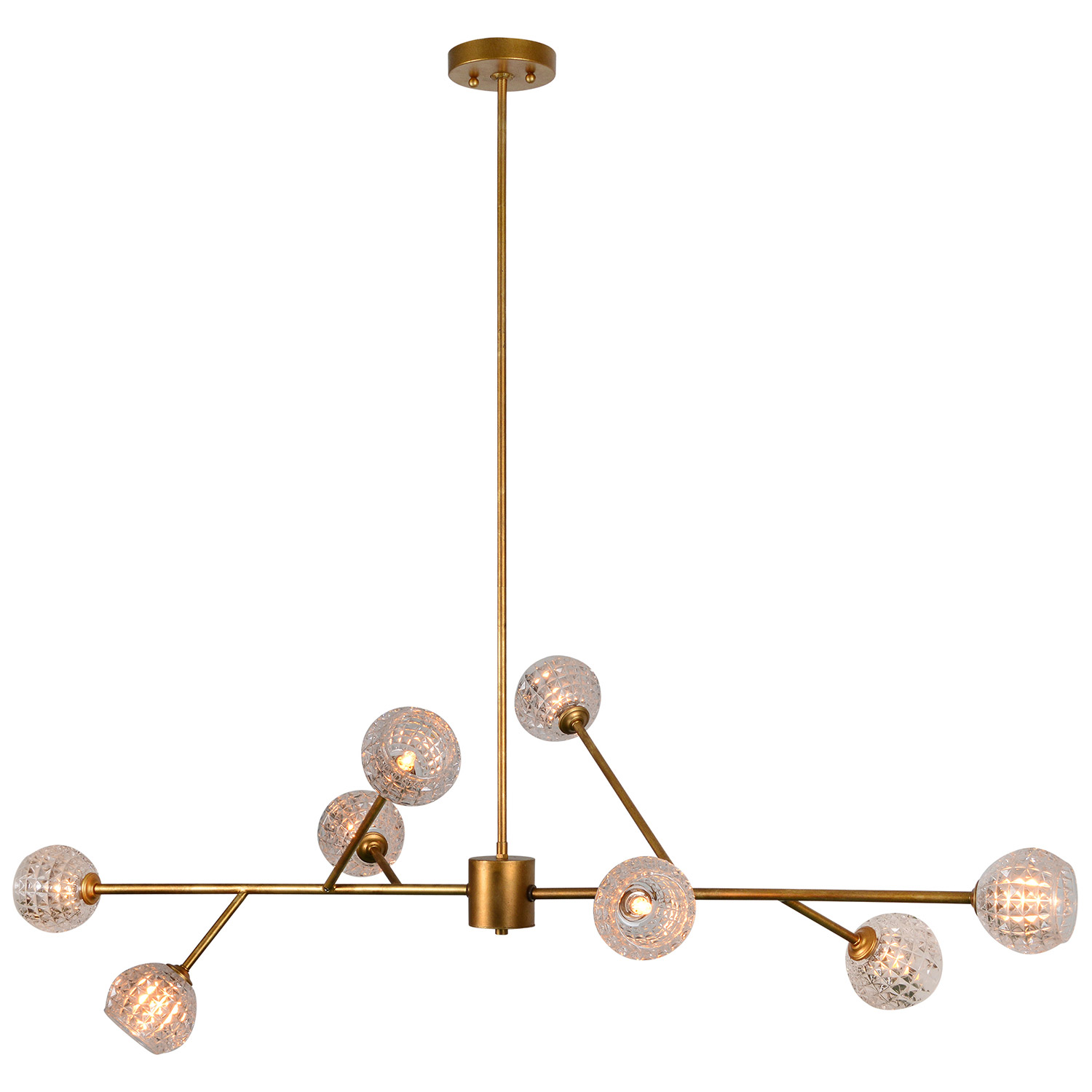 Ren-Wil Damas Ceiling Fixture - Antique Gold