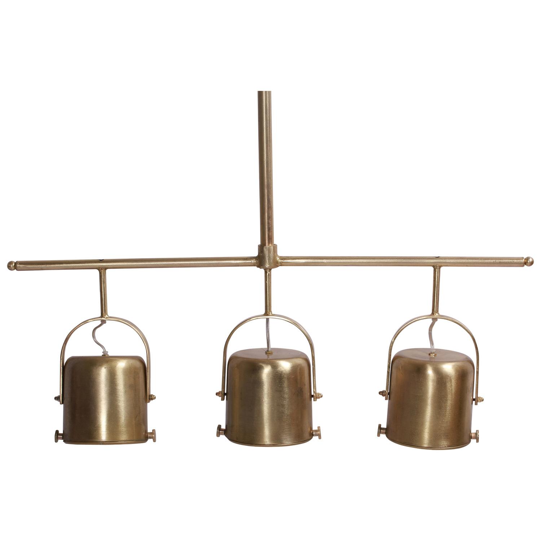 Ren-Wil Rosetta Ceiling Fixture - Brass Plated