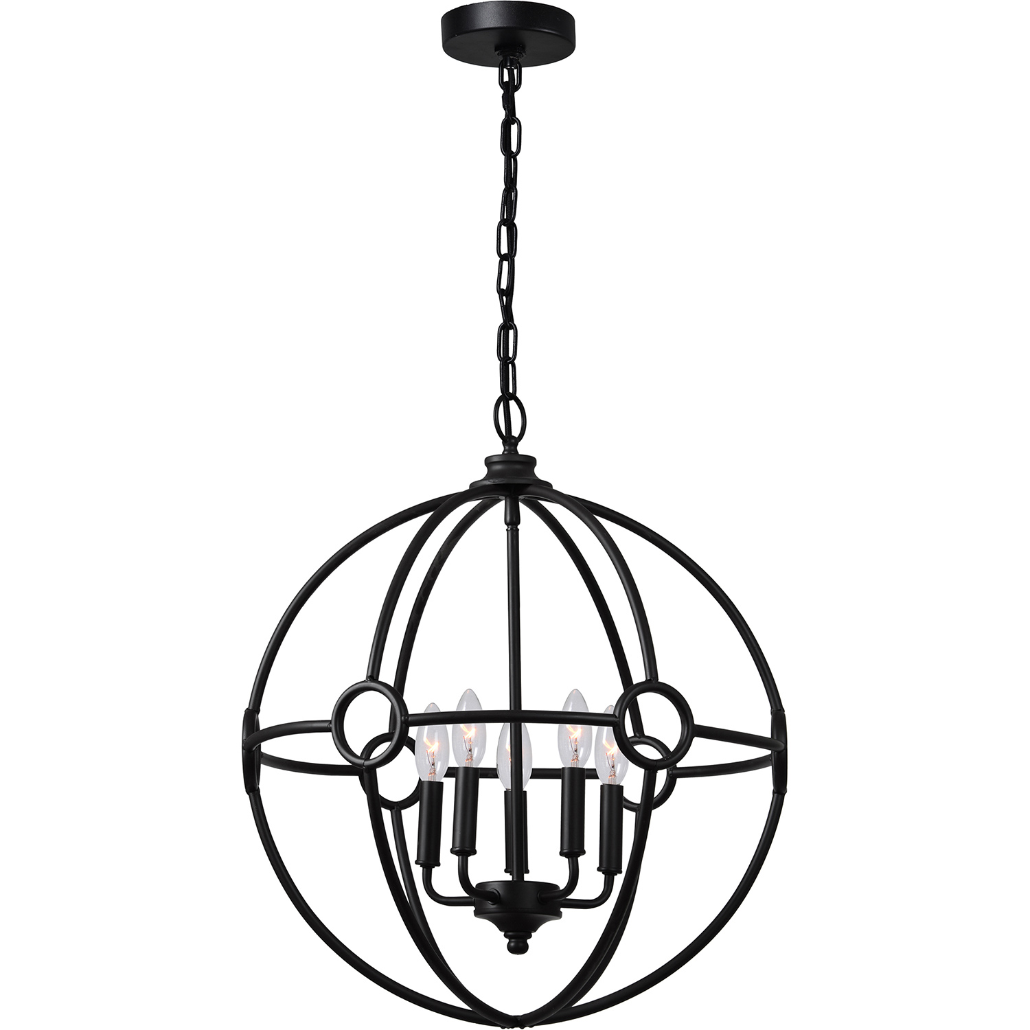 Ren-Wil Maida Ceiling Fixture - Brown