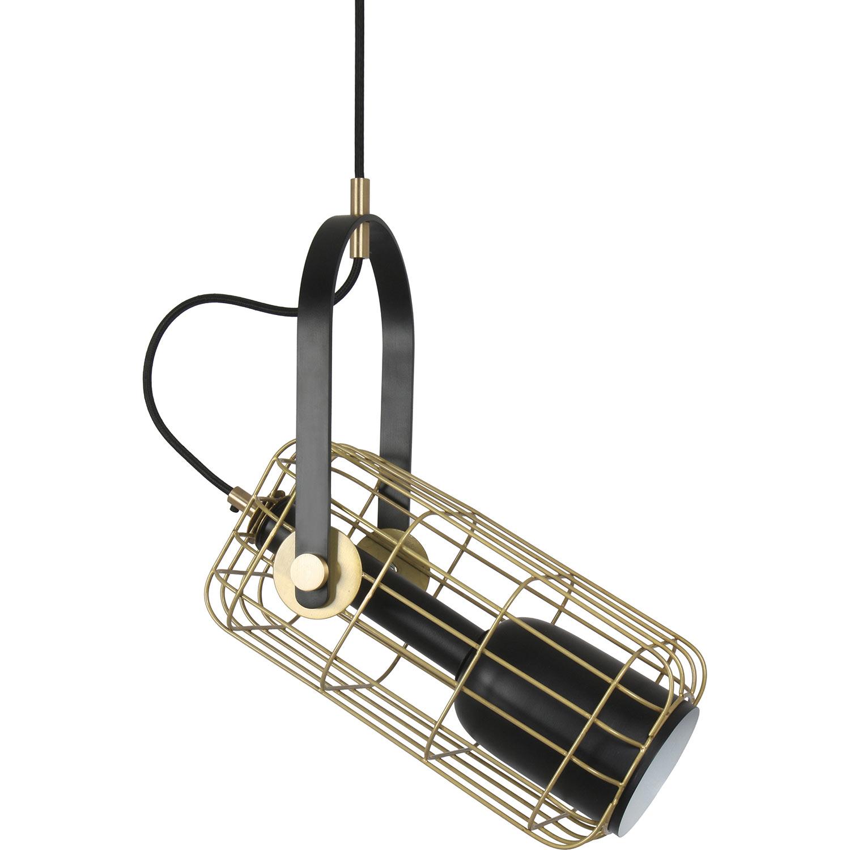 Ren-Wil Myla Ceiling Fixture - Matte Black/Antique Gold