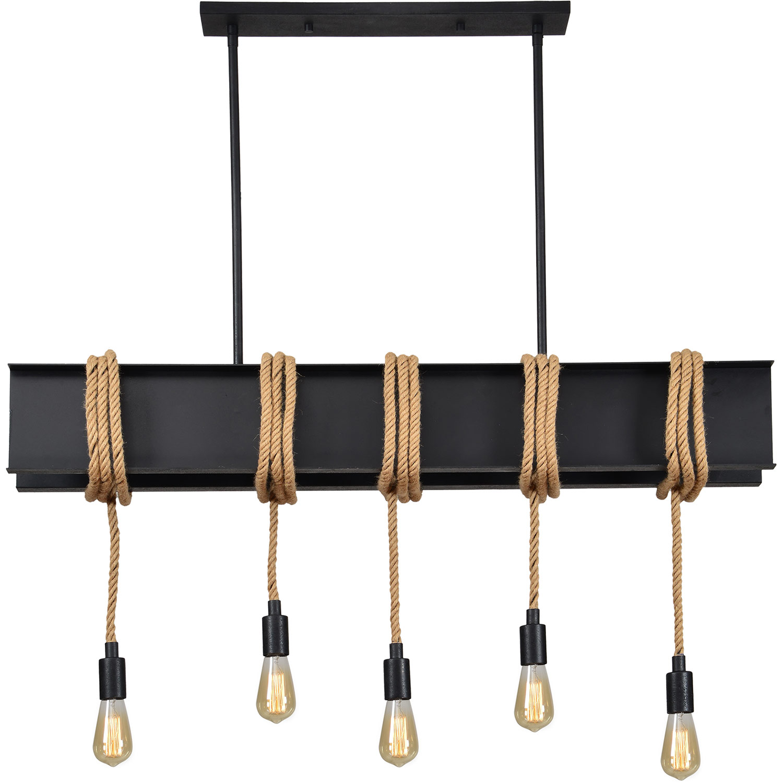 Ren-Wil Sabelle Ceiling Fixture - Textured Black