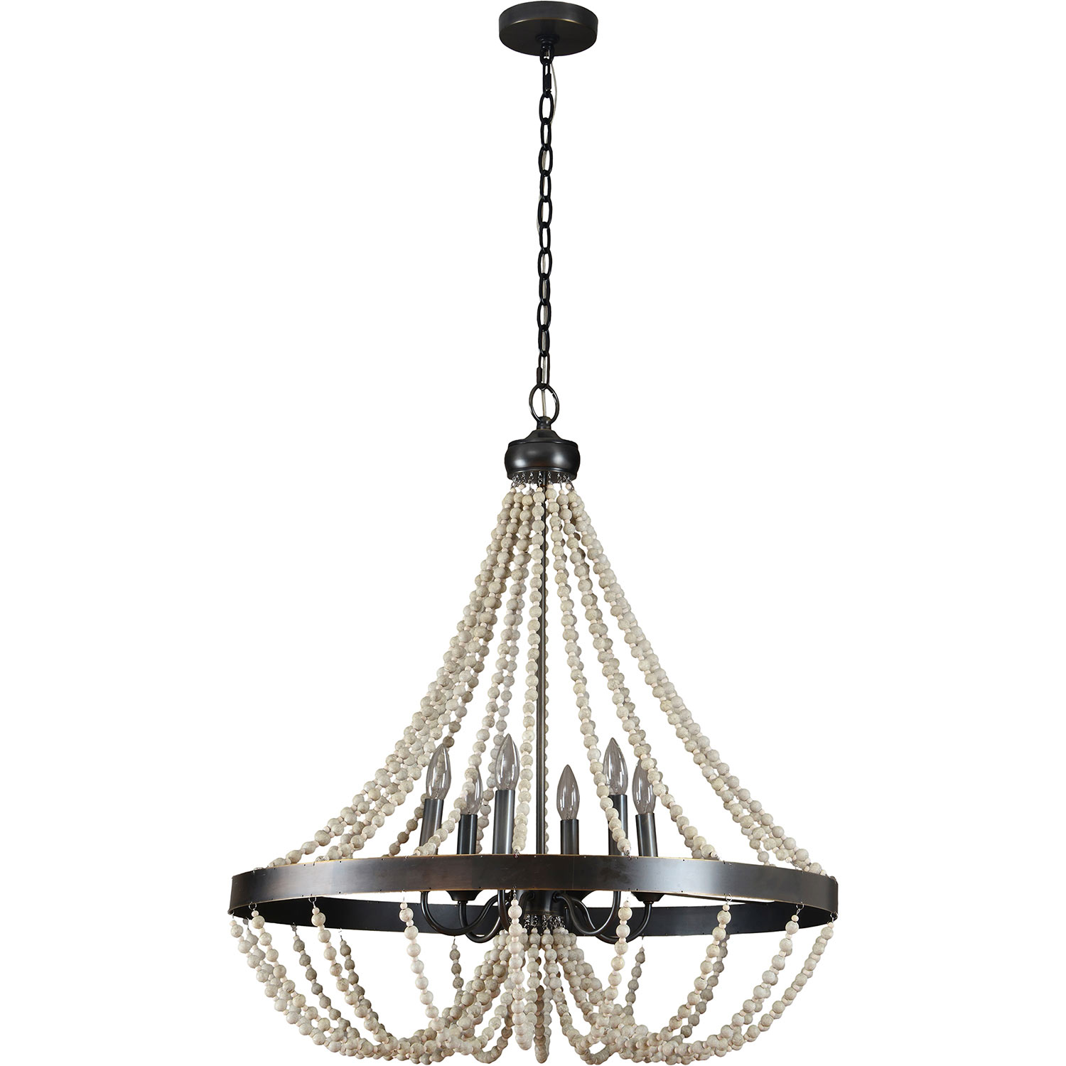 Ren-Wil Iona Ceiling Fixture - Oil Rubbed Bronze
