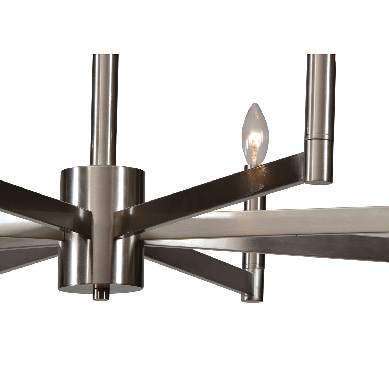 Ren-Wil Bayfield Ceiling Fixture - Satin Nickel