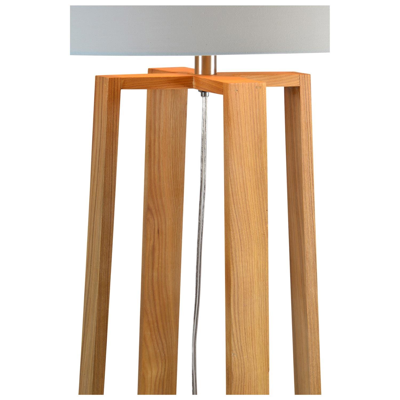 Ren-Wil Cranston Floor Lamp - Natural Wood Color