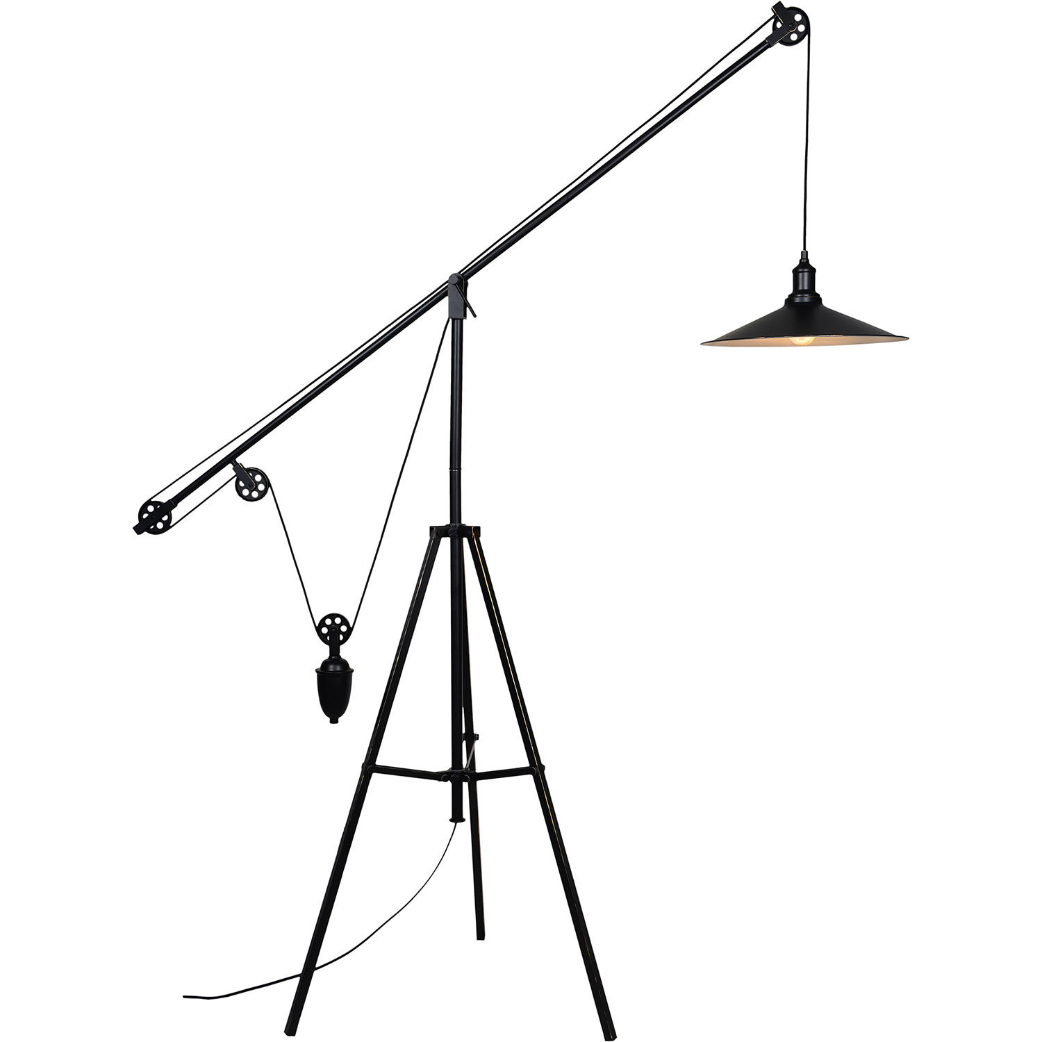 Ren-Wil Qade Floor Lamp - Oil Rubbed Bronze