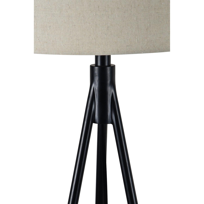 Ren-Wil Stacey Floor Lamp - Matte Black