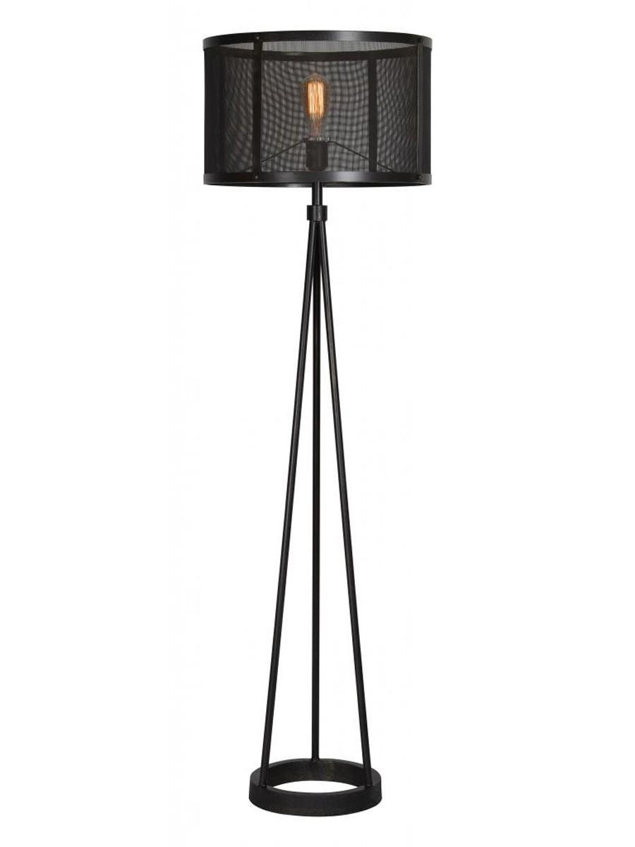 Ren-Wil Livingstone Floor Lamp - Black