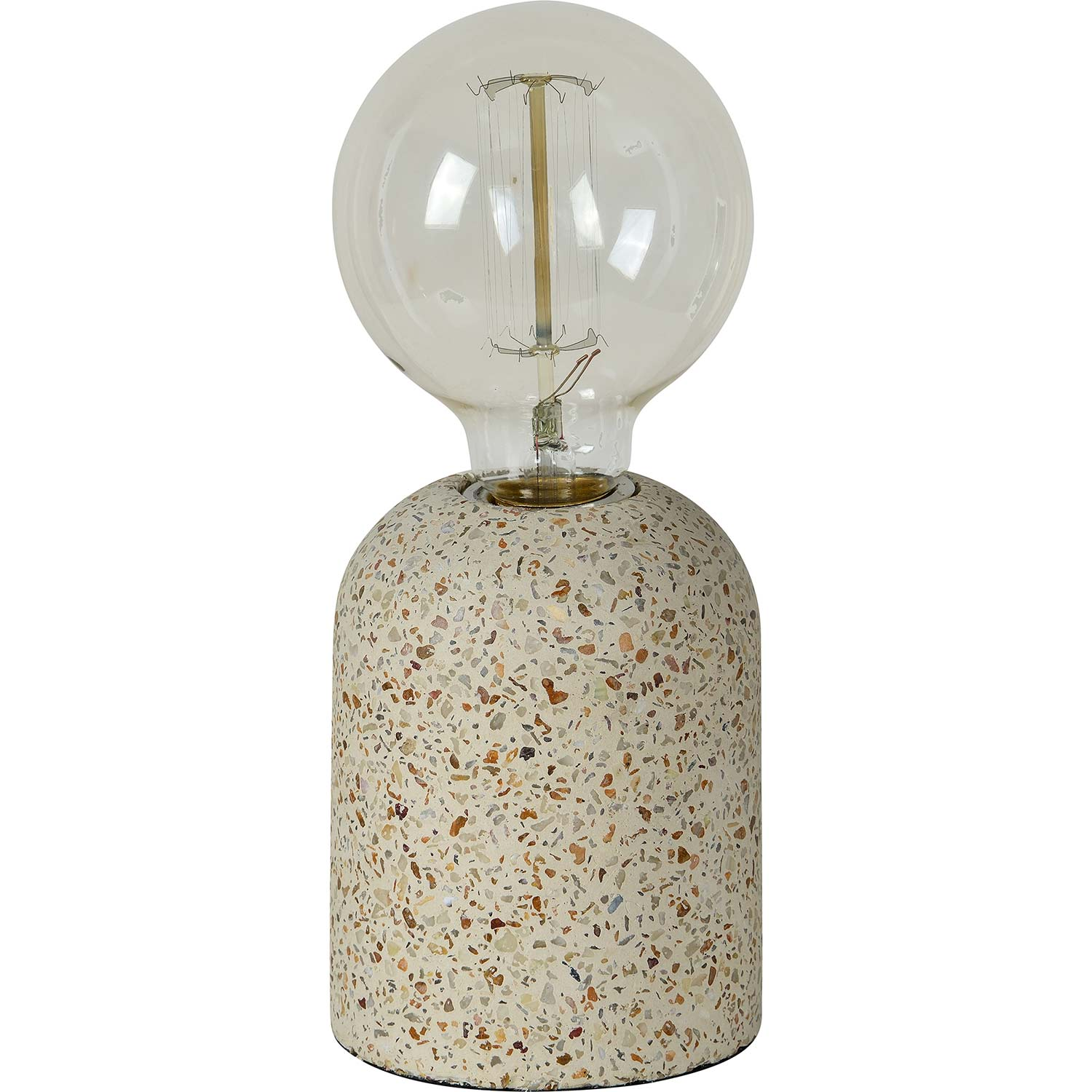 Ren-Wil Cherisse Table Lamp - Grey Cement/Stone Speckles