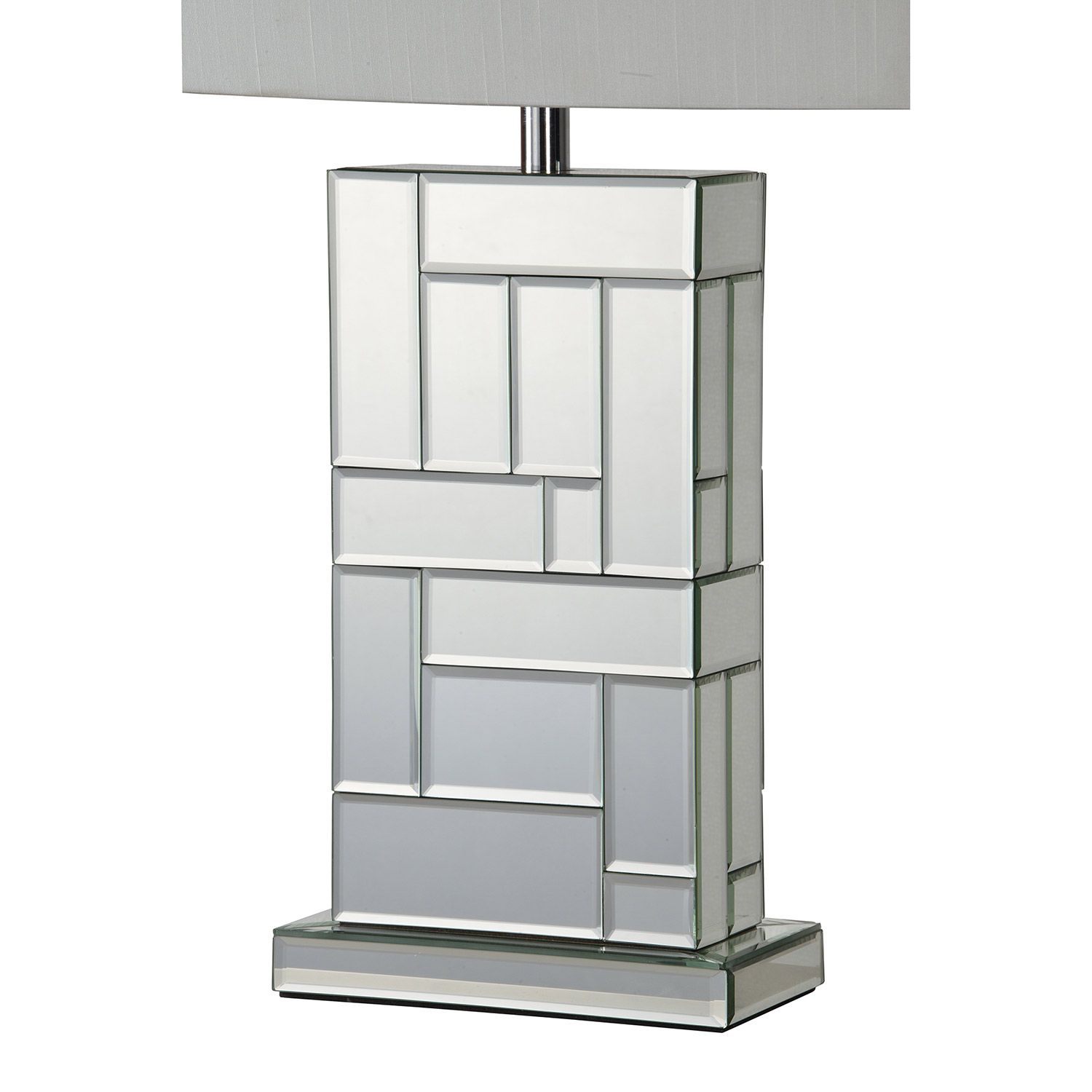 Ren-Wil Sabin Table Lamp - Silver Mirror