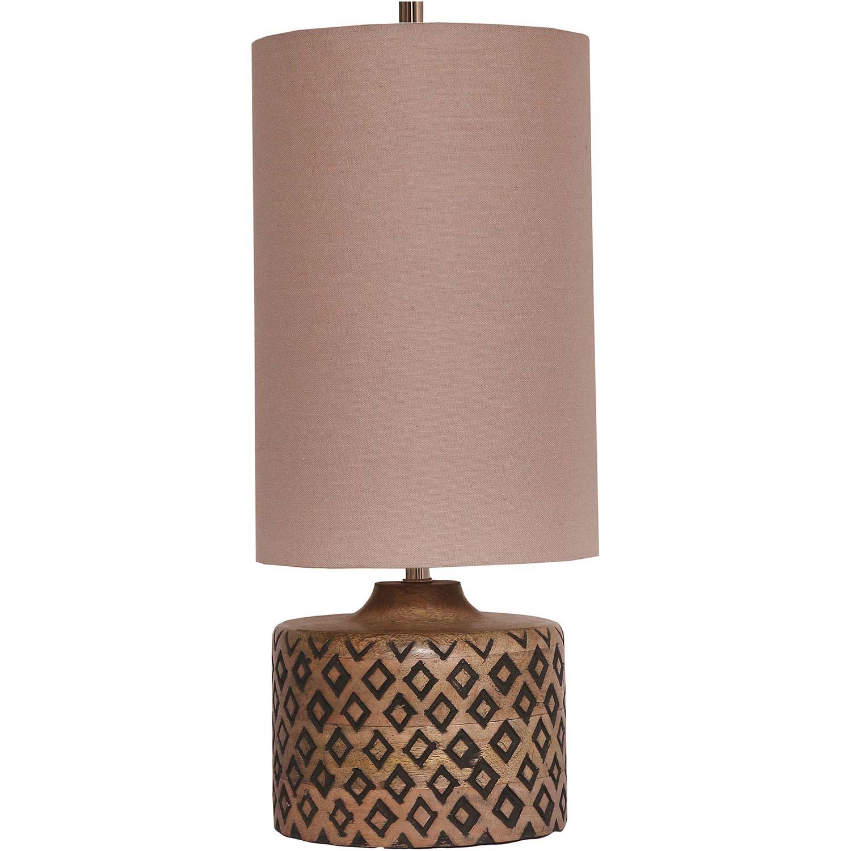 Ren-Wil Marsha Table Lamp - Natural/Black