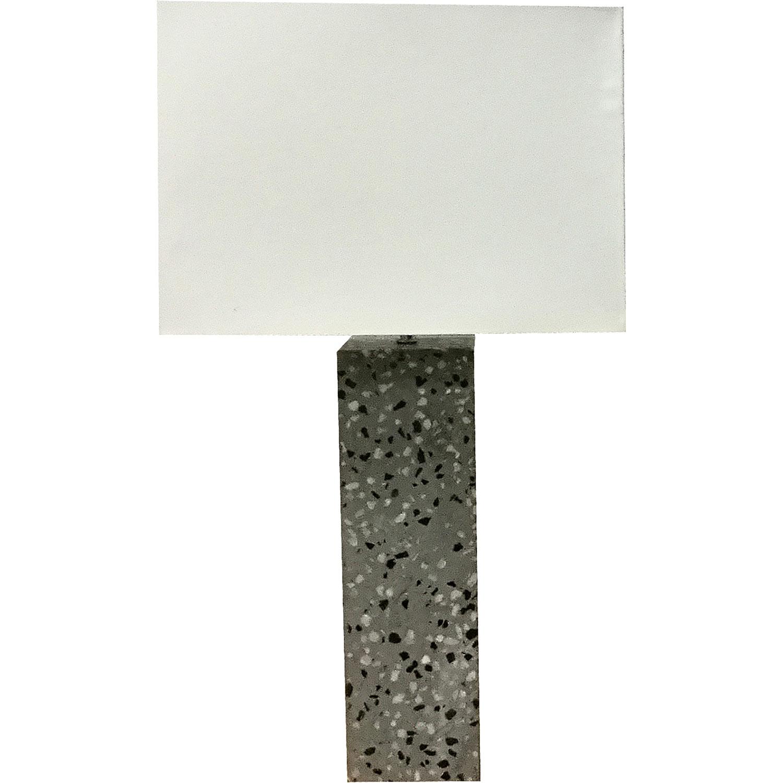 Ren-Wil Micaela Table Lamp - Natural Concrete/Natural Marble Speckles