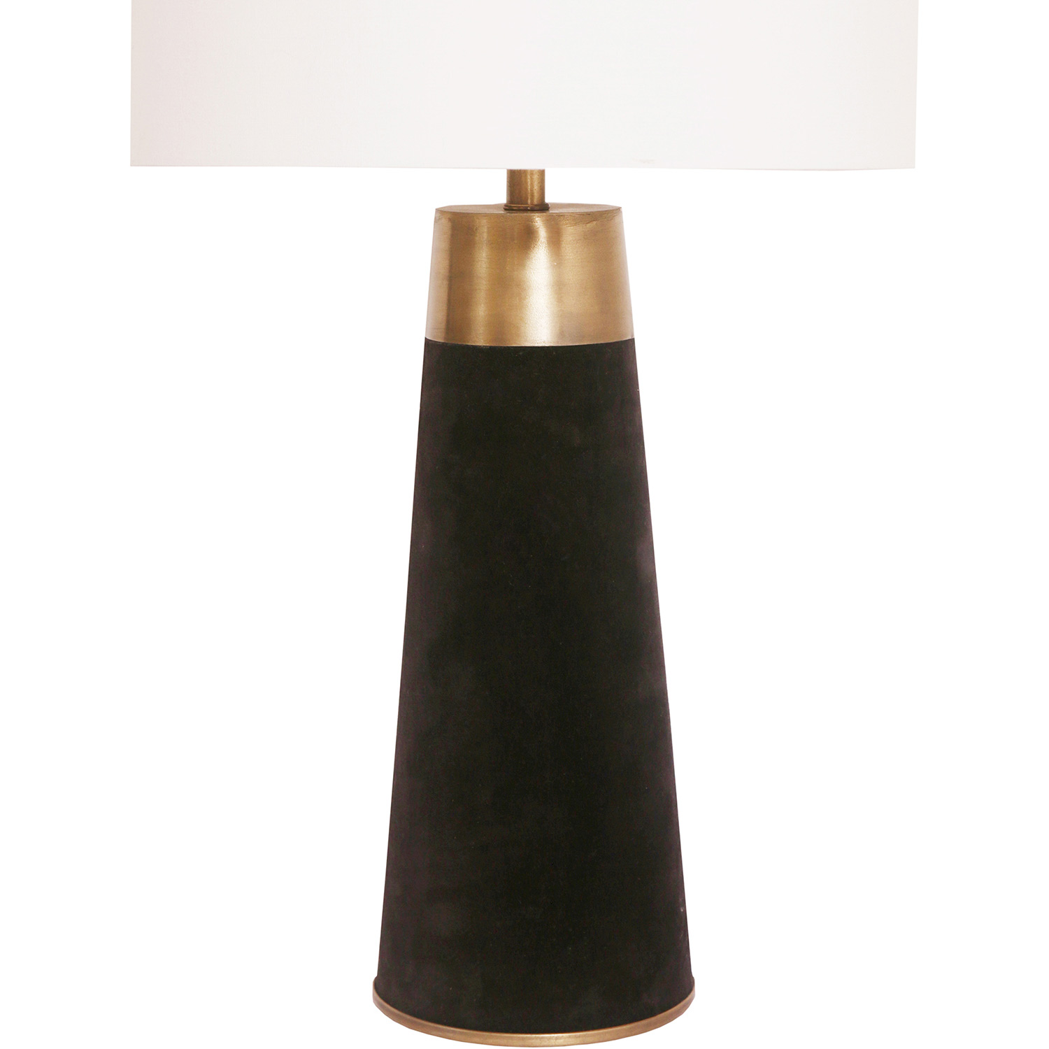 Ren-Wil Milaren Table Lamp - Black/Antique Brass