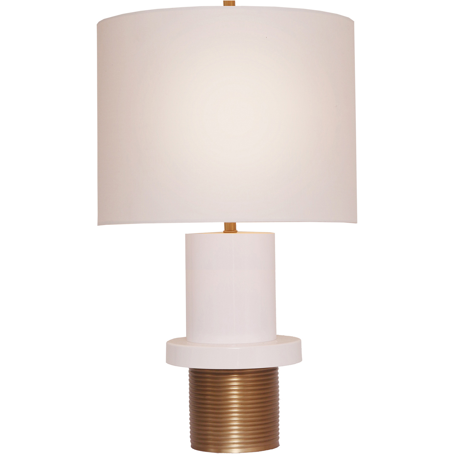 Ren-Wil Monique Table Lamp - White/Gold