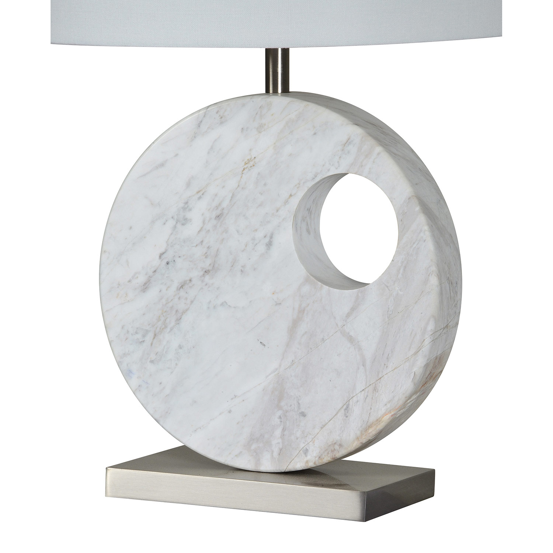 Ren-Wil Bellair Table Lamp - Satin Nickel