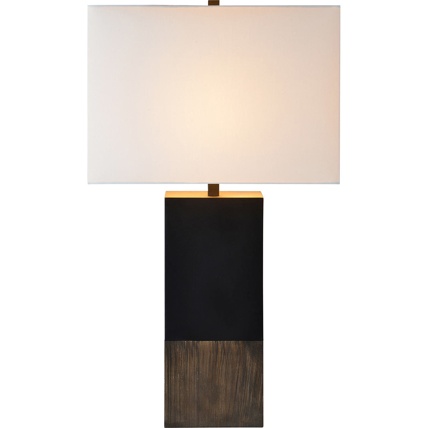 Ren-Wil Table Lamp - Natural/Matte Black