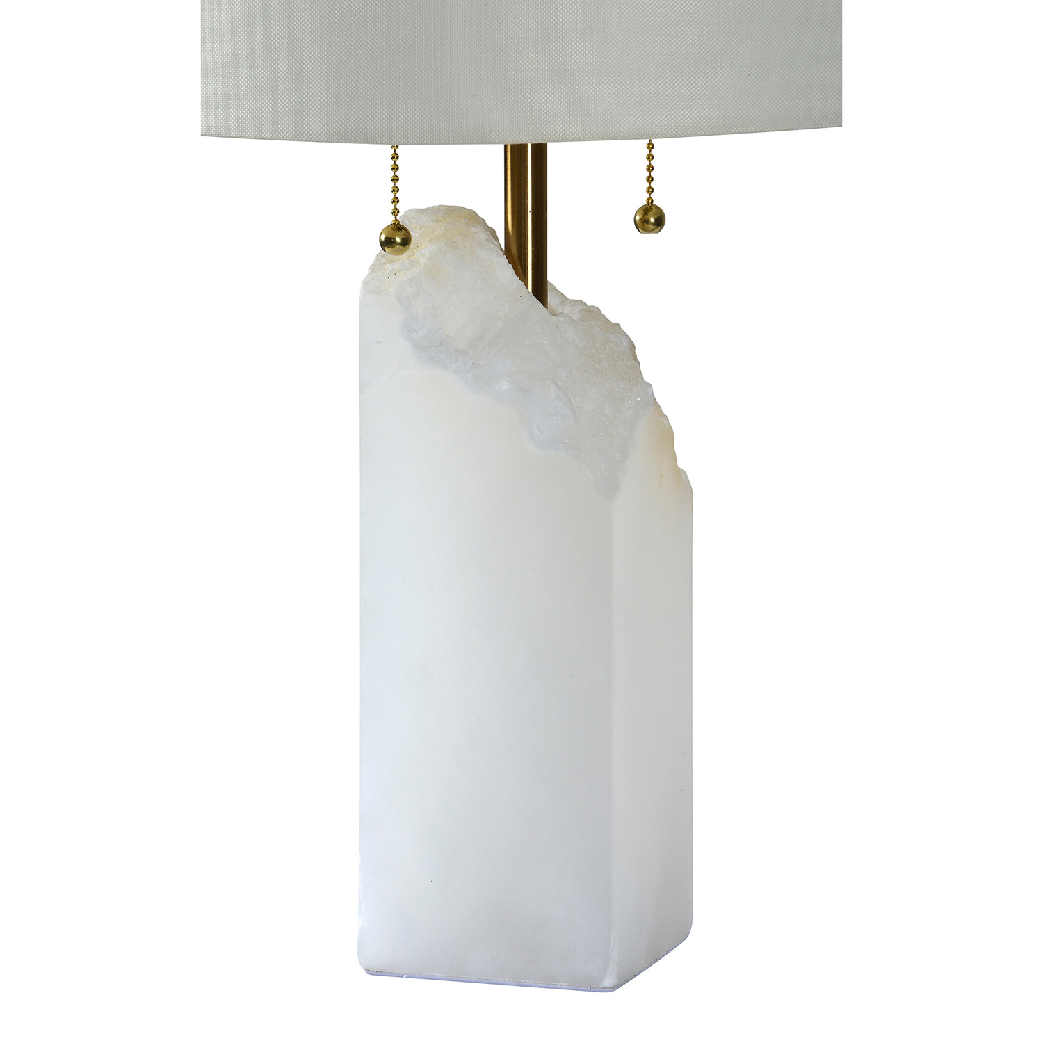Ren-Wil Ward Table Lamp - White Marble